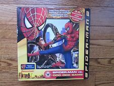 3-D SPIDER-MAN VS. DOC OCK GAME AND COMPLETE!  GREAT SHAPE!