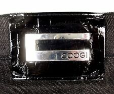 Coogi Black Denim Jeans Embroidered W 50 x L 35 EUC