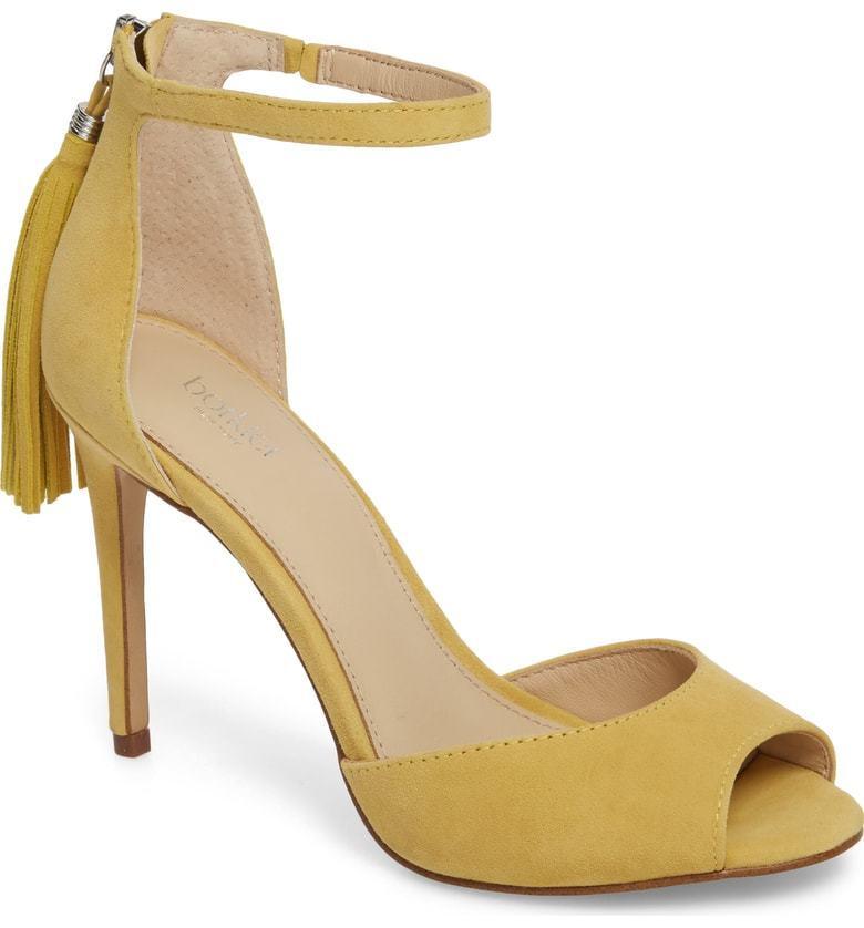 Botkier New York Women's Anna Ankle Strap Open Toe Sandal Pineapple SZ 8  118