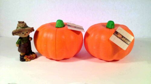 Fall Orange Carvable Styrofoam Pumpkins for Party Decor Craft Projects