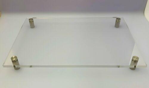 Türschild DIN A4-A5-A6 Acryl Plexiglas Transparent Büroschild Praxisschild