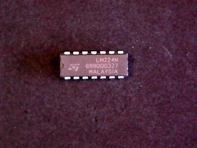 ST Microelectronics Quad Op Amp DIP-14 LM224N