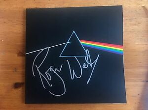 Details about Roger Waters Signed Dark Side of The Moon Pink Floyd Vinyl  Record LP Exact Proof