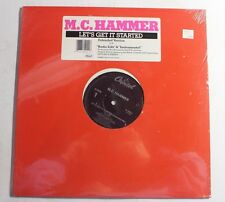 "M.C. HAMMER Let's Get It Started 12"" Capitol Rec V-15411 US 1987 M SEALED 13A"
