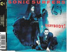 SONIC SURFERS - Everybody! CDM 4TR Eurodance 1994 Holland