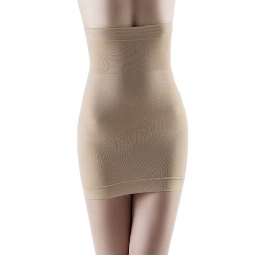 Sn /_ Femme sans Couture Taille Haute Demi à Enfiler Shaper Ventre Plat Sculptan
