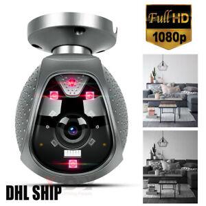 Mini WIFI IP Kamera WLAN Webcam Überwachungskamera Nachtsicht HD 1080P Camera DE