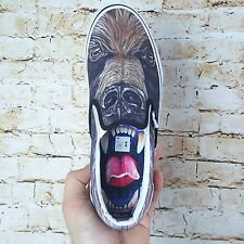 Vans CLASSIC SLIP ON Custom Culture 2015 Bear Unisex Shoes