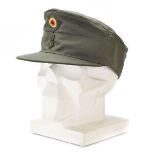 e28e54b03e6 Genuine ORIGINAL GERMAN ARMY OLIVE CAP O.D field tactical military ...