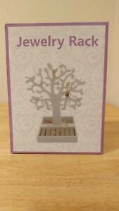 Wood Tree Jewelry Stand Display Organizer Necklace Holder Show Rack Ebay