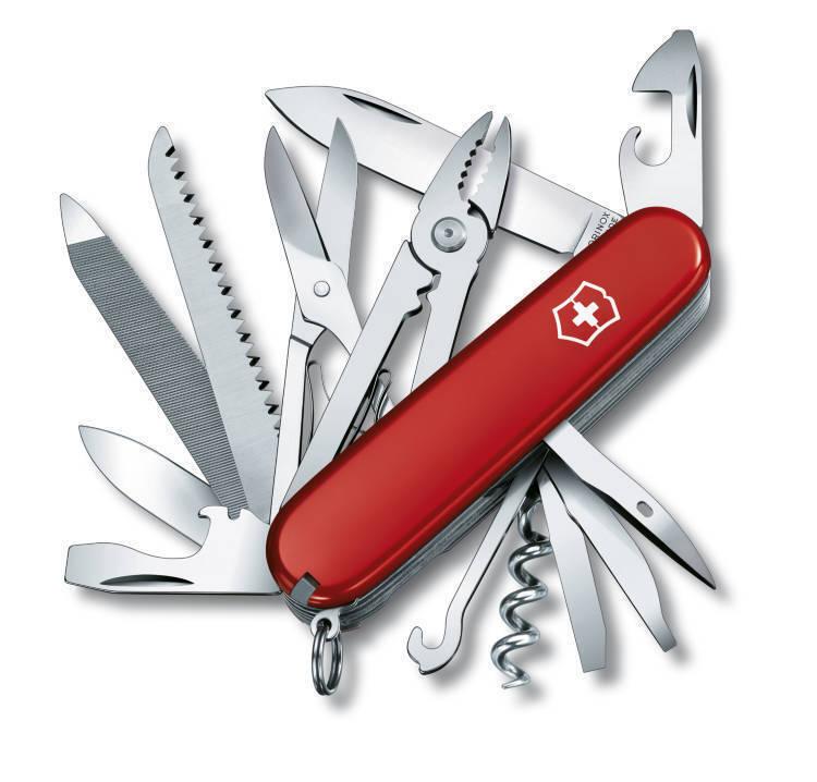 VICTORINOX Handyman NEU OVP Schweizer Taschenmesser Offiziersmesser Rot 1.3773  | Sonderpreis