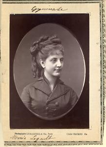 Lemercier-et-Cie-Paris-Gymnase-Maria-Legault-Vintage-print-Photoglyptie