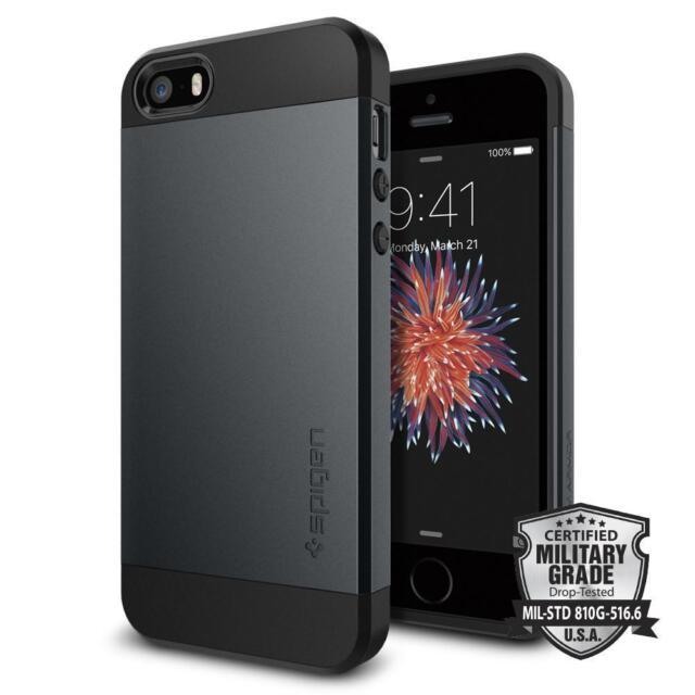 Spigen   für iPhone SE 2018 / 5S / 5C / 5   Slim Armor Hülle Schutzhülle Case