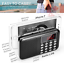 Portable-Radio-Pocket-AM-FM-Battery-Operated-Radio-with-Emergency-Flashlight miniature 4