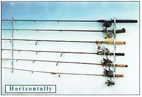 NEW-DU-BRO-Fishing-Trac-A-Rod-Storage-System-2-Feet-Silver-White-FREE-SHIPPING