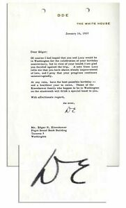 Dwight-Eisenhower-1957-Typed-Letter-Signed-as-President-Days-Before-Inauguration