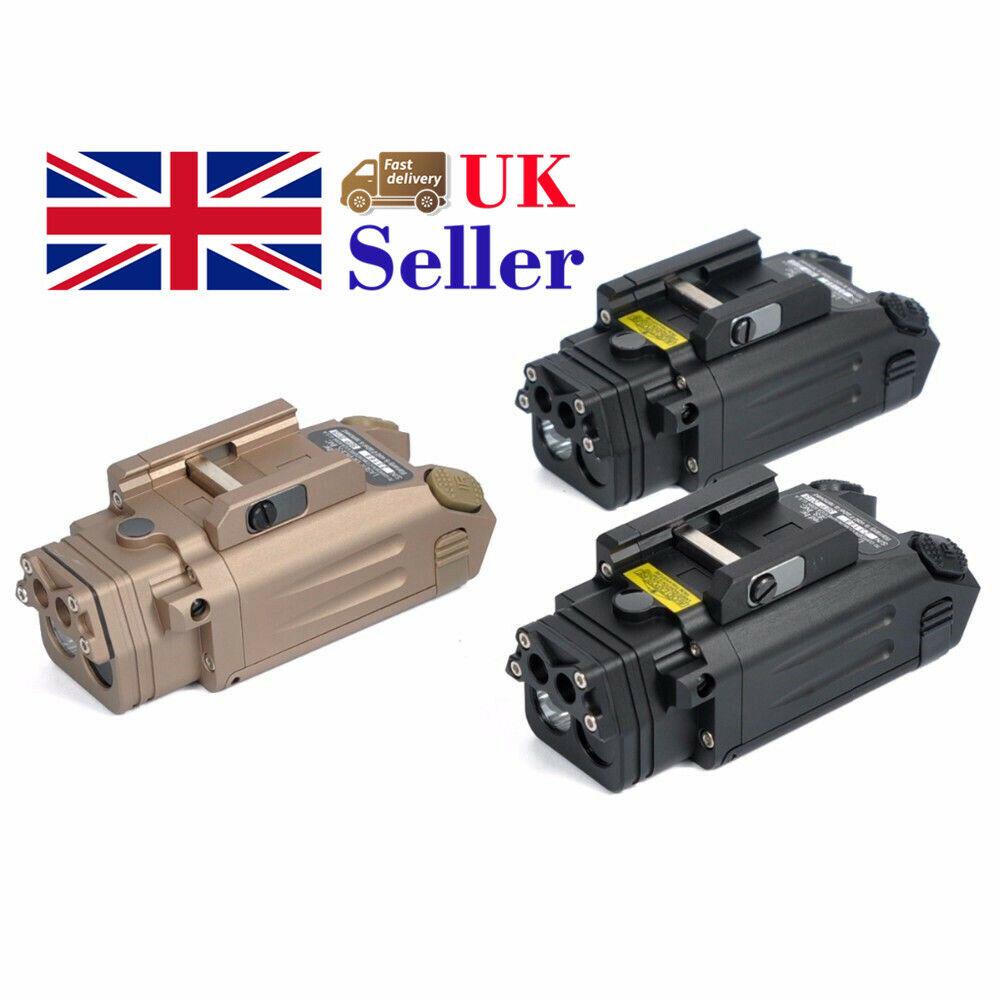 Tactical IR Laser Light DBAL-PL LED Gun Flashlight With Red Laser NV Illuminat