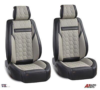 Cubiertas de asiento de tela negro Frontal Negro Para Nissan Pixo Pathfinder Navara Pickup