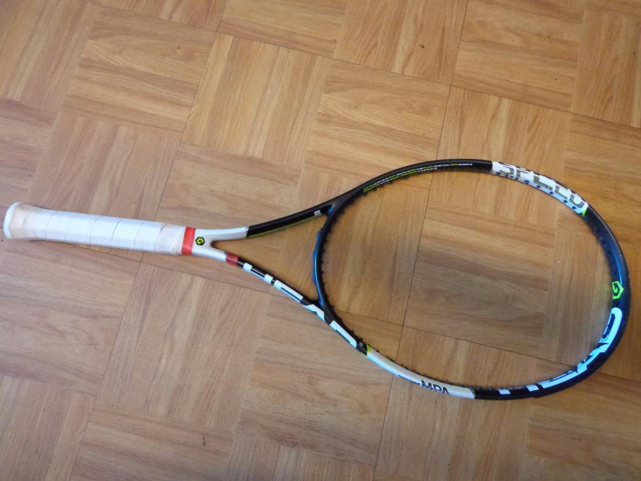 Head Graphene Xt Velocidad Mp 100 cabeza 10.6oz 4 3 8 Grip Tenis Raqueta