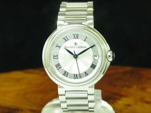 Maurice-Lacroix-Fiaba-Stainless-Steel-Ladies-Watch-with-Date-Ref-FA1004