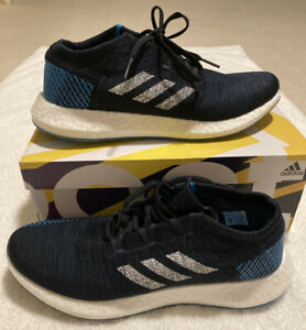 Adidas-PureBOOST-GO-mens-Running-Casual-Shoes-US-11-Navy-Blue-New-With-Box