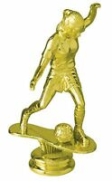 Female Soccer Figure Game Sport Team Player Trophy Award Low As $2.99 Ea T-170