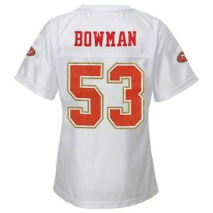 Details about NaVorro Bowman NFL San Francisco 49ers Replica Jersey Girls Youth (XS-XL)