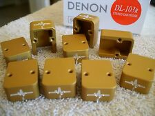 PARADOX Pulse DIY Denon DL-103 DL-103R T6 cartridge body ZU universal satin gold