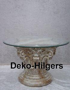 Couchtisch glastisch tisch s ule wohnzimmertisch for Glastisch wohnzimmertisch
