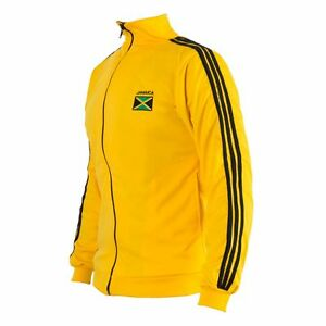 Rasta Reggae Jacke Jamaika Flagge Reißverschluss Trainingsanzug Commodities Are Available Without Restriction Activewear