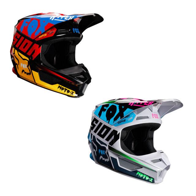 Fox Helmet V-1 Czar Black//Yellow M