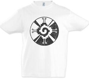 Maya-Balance-Symbol-Kinder-Jungen-T-Shirt-Mayans-Taetowierer-Tattoo-Indianer