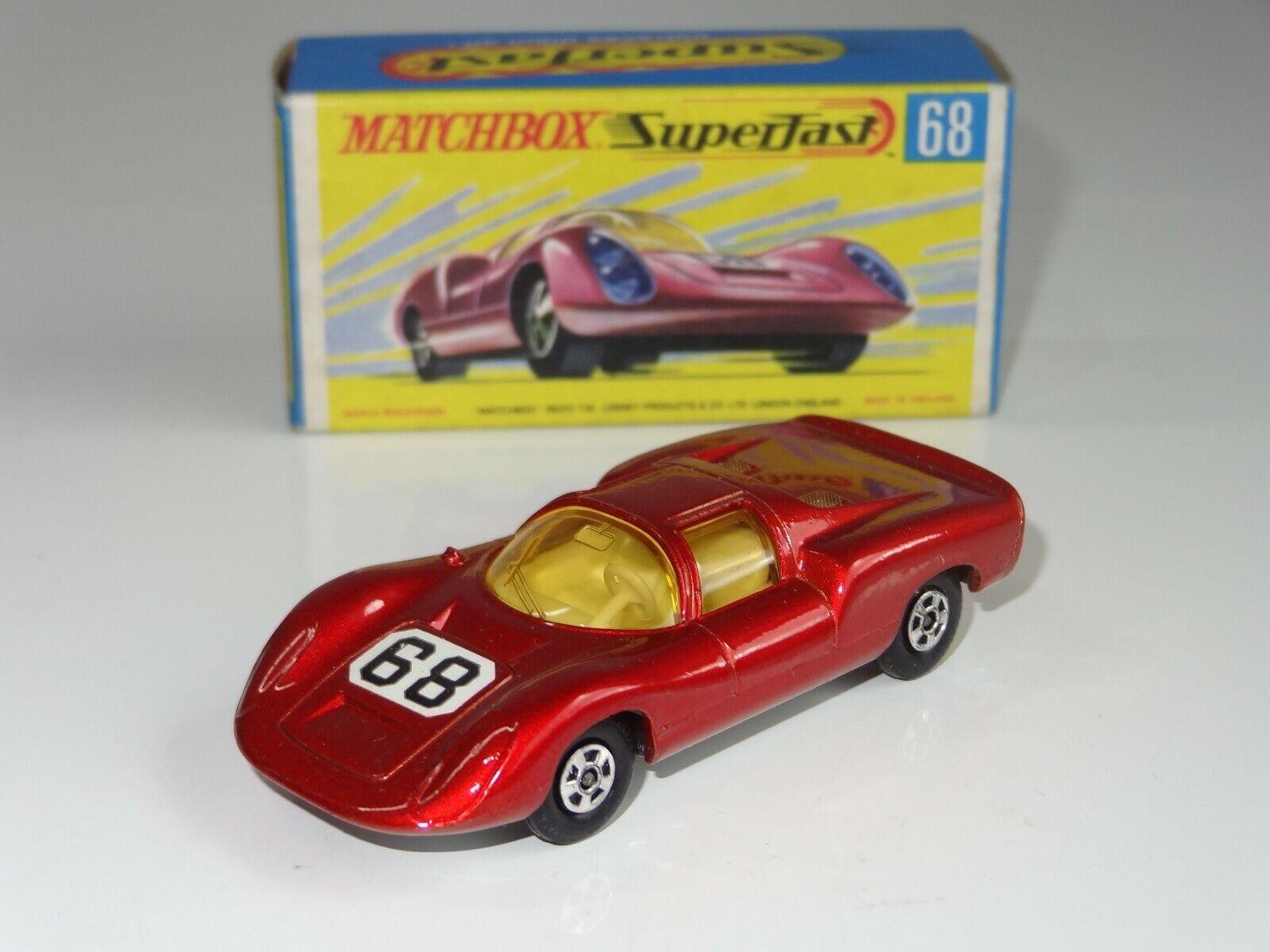 (B) Matchbox Matchbox Matchbox Lesney súperfast Porsche 910 - 68  oferta de tienda