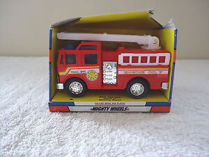 Soma-Mighty-Wheels-Fire-Truck-034-NOS-034-GREAT-COLLECTABLE-ITEM-034