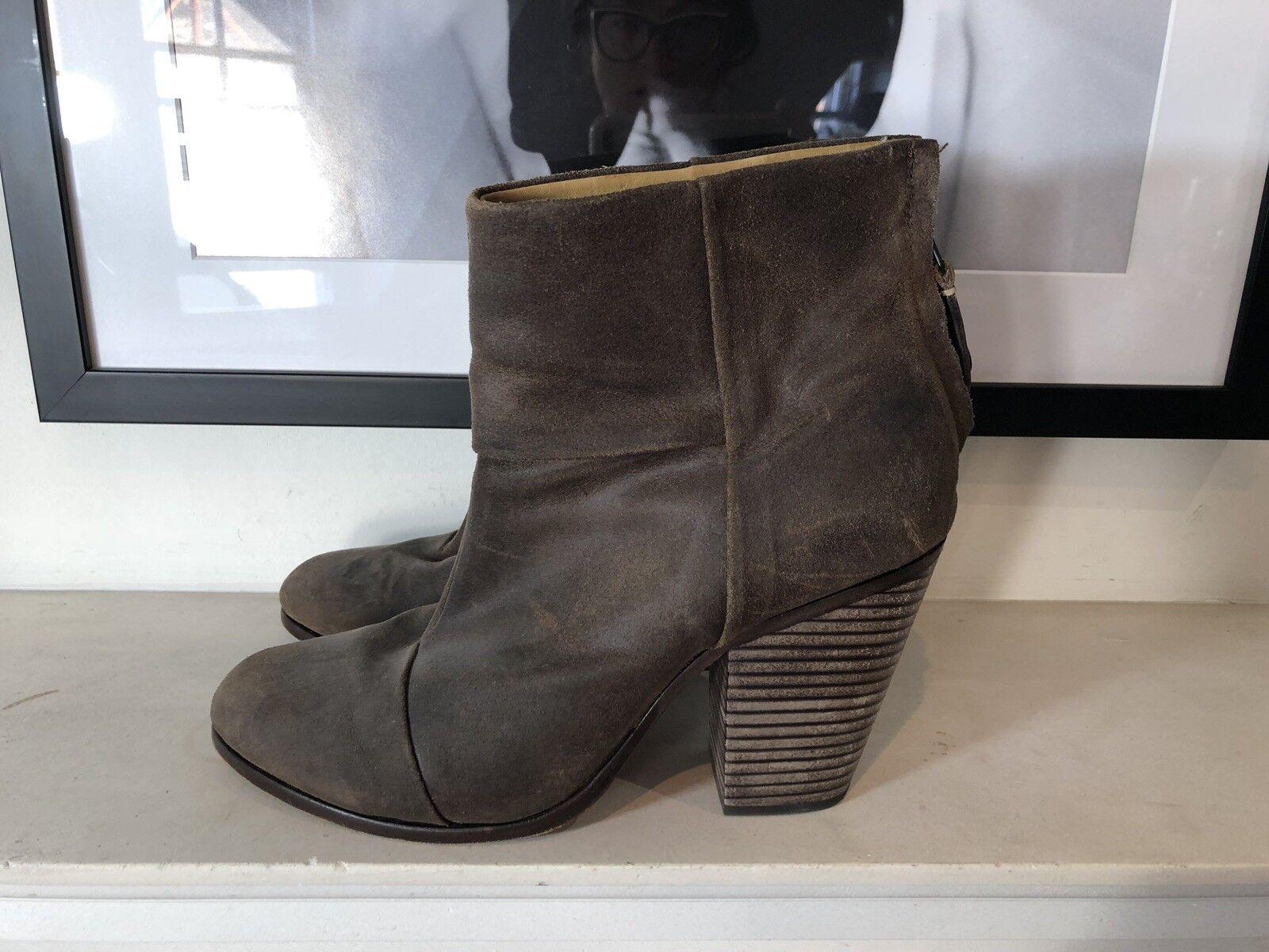 Rag And Bone Bone Bone Margot Suede Ankle Stiefel ed91f6