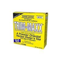 Body Breakthrough Diet Trim-maxx Tea Lemon 60 Count Lemon Twist Free Shipping