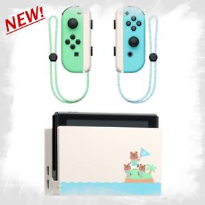 Nintendo-Switch-Animal-Crossing-muelle-y-Joy-con-solo-establecer-nuevos-horizontes-Japon-Nuevo