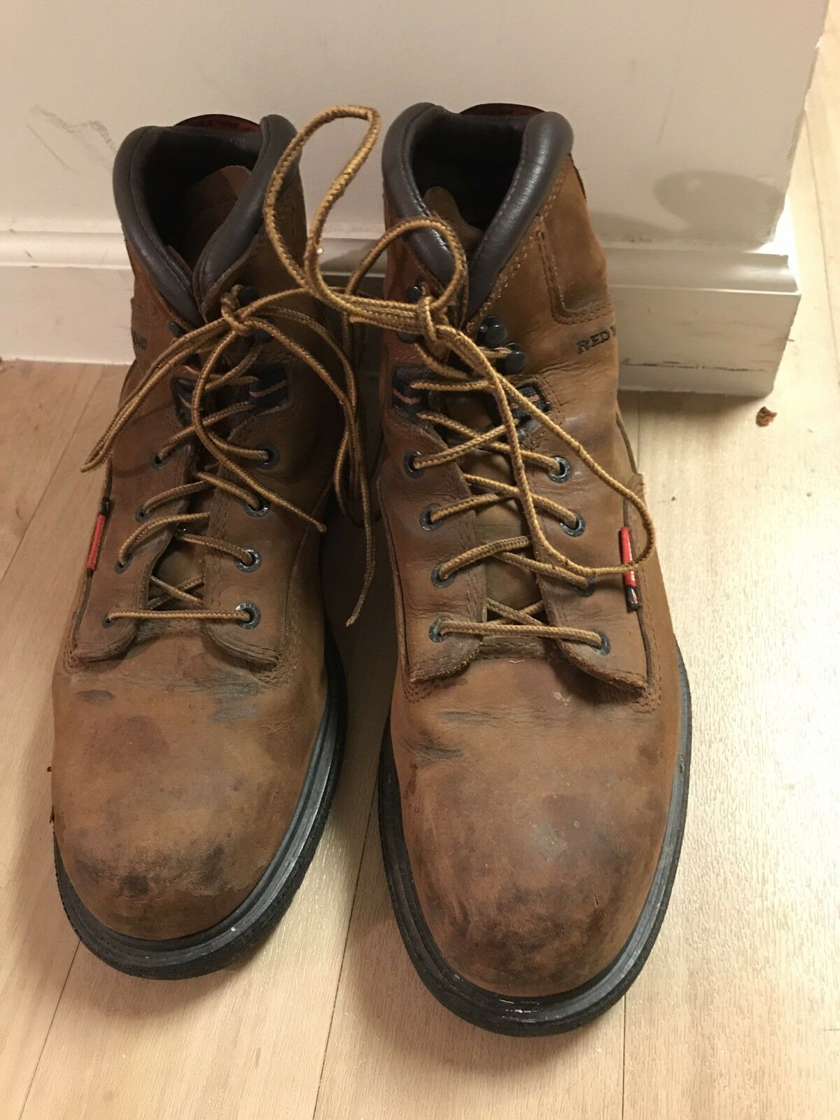 rot Wing  2222 6  Steel Steel Steel Toe Electrical Hazard Leather Work Stiefel 10 EE  USA Made 887fa7