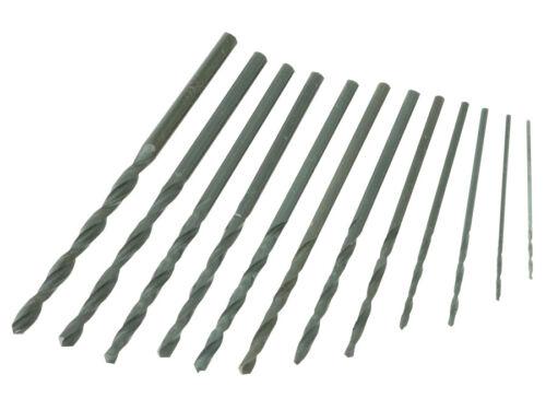 S1055 - 30 Stück Mini Bohrer 0,4-3,2mm Sortiment Miniaturbohrer Set Spiralbohrer