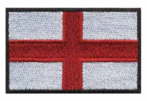 England Flag  High Quality Embroided Iron On English Sew On Patch Badge