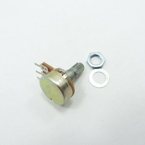 1K-1M ohm Mono//Single 15mm Linear B Potentiometer Volume Tone Mixer Logarithmic
