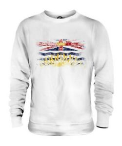 Britannique-Columbia-Drapeau-Delave-Unisexe-Pull-Colombienne-B-c-Chemise