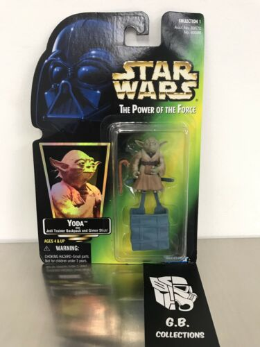 Star Wars The Power Of The Force Yoda  Action Figure NEW SEALED