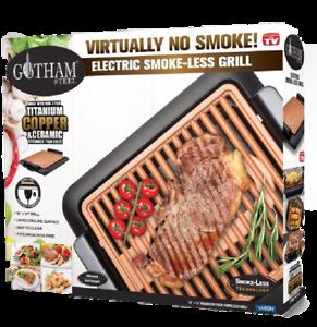 Gotham Steel Smokeless Electric Grill Nonstick