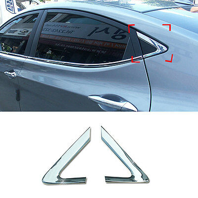 Chrome C-Pillar Cover Garnish Molding For Hyundai Sonata 2011-2014