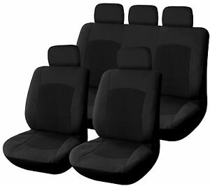 housse pour siege voiture velours noir fractionnable 4 mm d 39 epaisseur general ebay. Black Bedroom Furniture Sets. Home Design Ideas