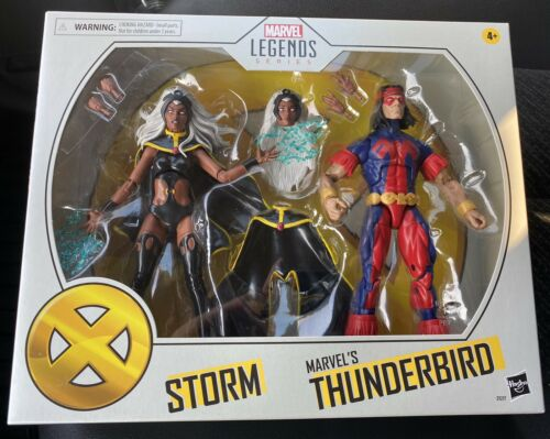 New.Marvel Legends STORM /& THUNDERBIRD Target Exclusive 2 Figure Pack IN HAND!