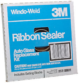"3M Window-Weld� Round Ribbon Sealer 08611 5//16/"" x 15/' Kit 8611"