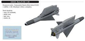 Eduard-Brassin-648324-1-48-MATRA-r-530-misiles-2-piezas