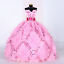 9PCS-Barbie-Doll-Wedding-Party-Dress-Princess-Clothes-Handmade-Outfit-for-12in thumbnail 2